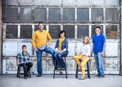 Mackley family portrait - Logan, Utah